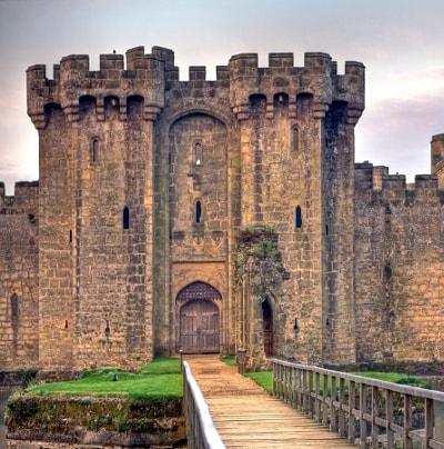 Bodiam Castle: the main gatehouse