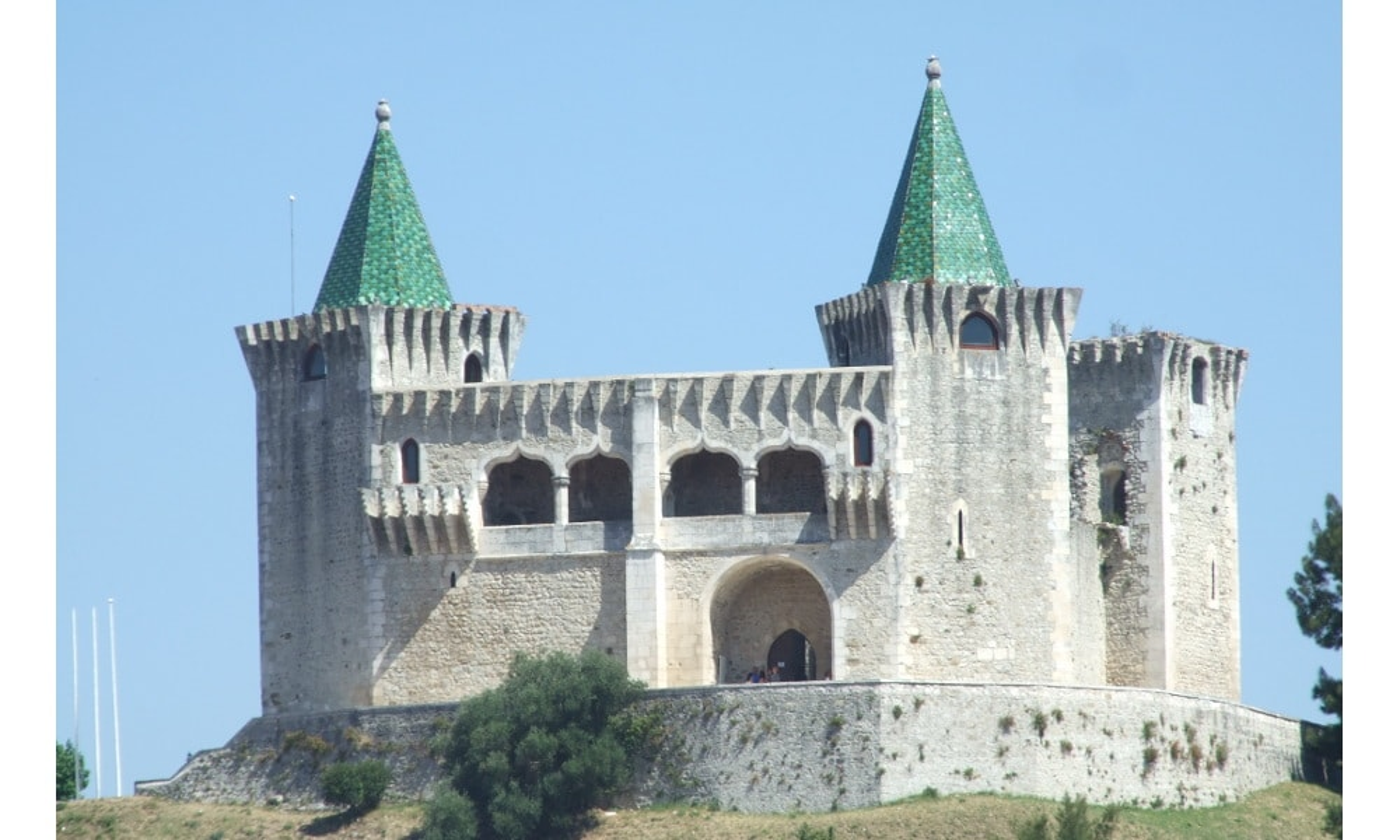 castelo de porto de mos