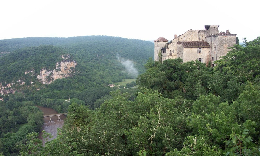 castle of bruniquel