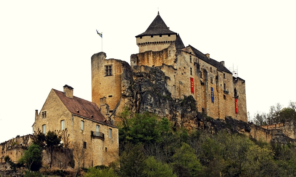 castle of castelnaud-la-chapelle