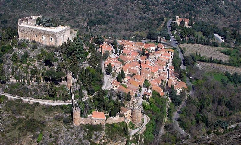 castle of castelnou