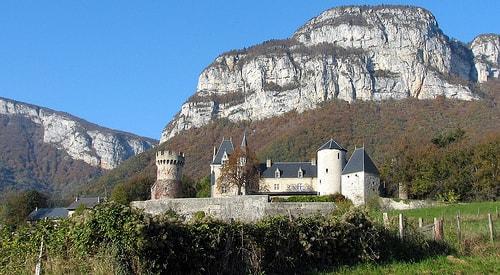 castle of la batie-seyssel