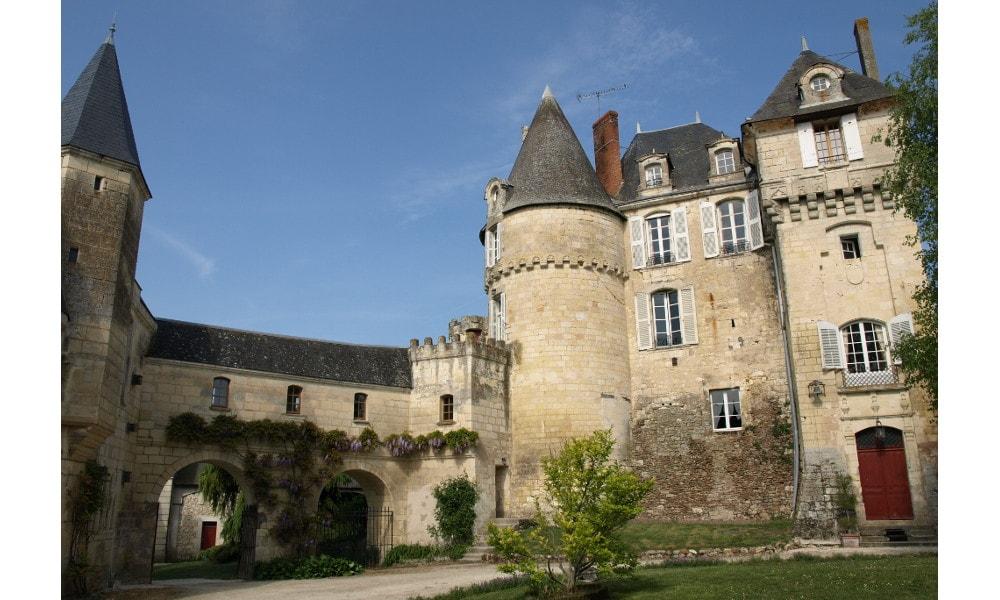 castle of la celle-guenand