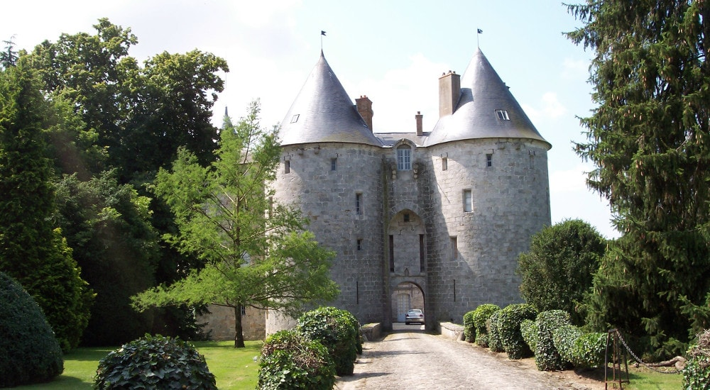castle of la grange-bleneau