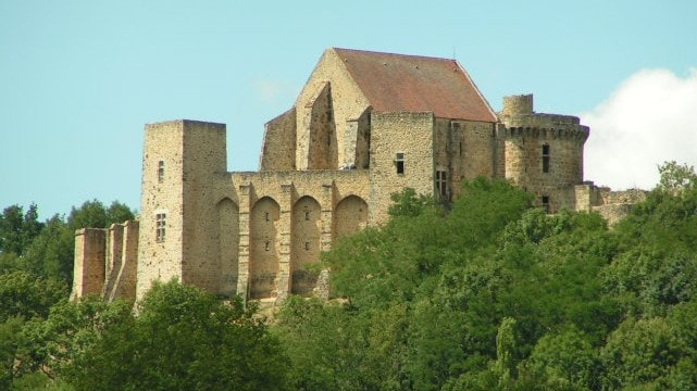 castle of la madeleine