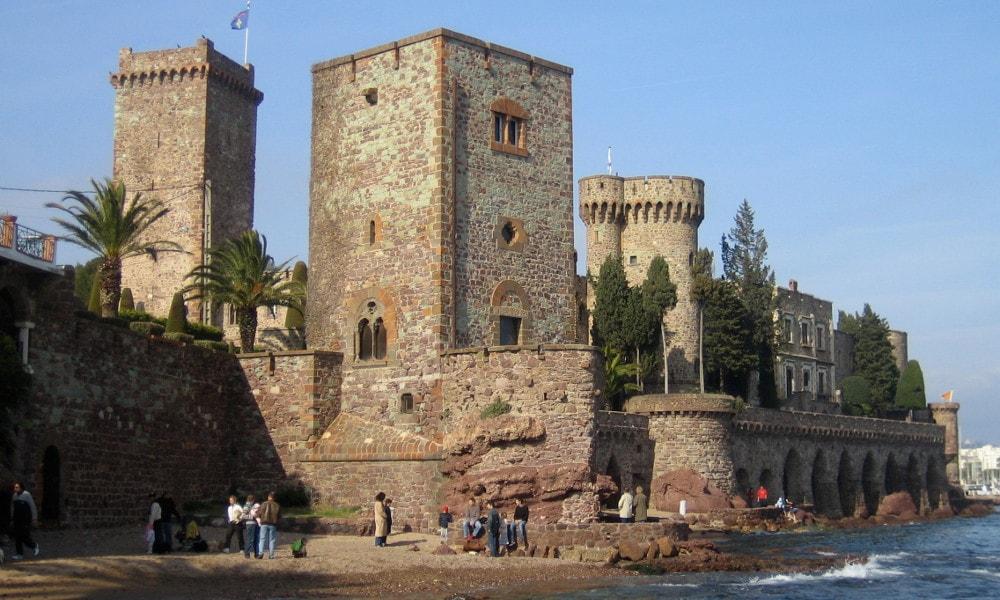 castle of la napoule
