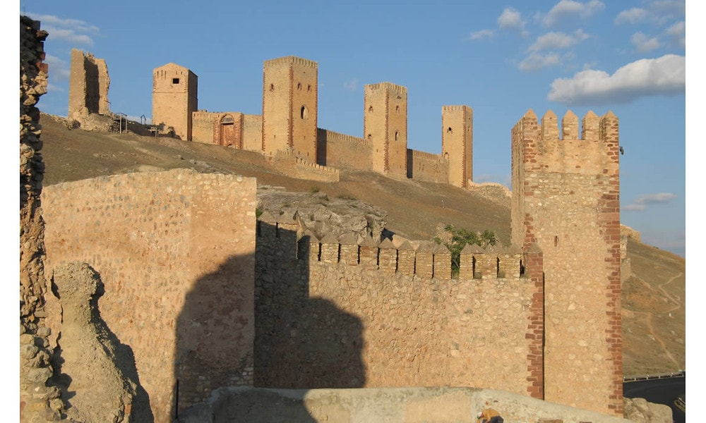 castle of molina de aragon