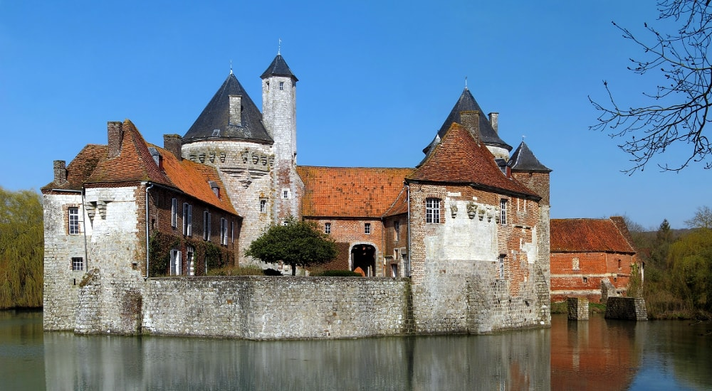 castle of olhain
