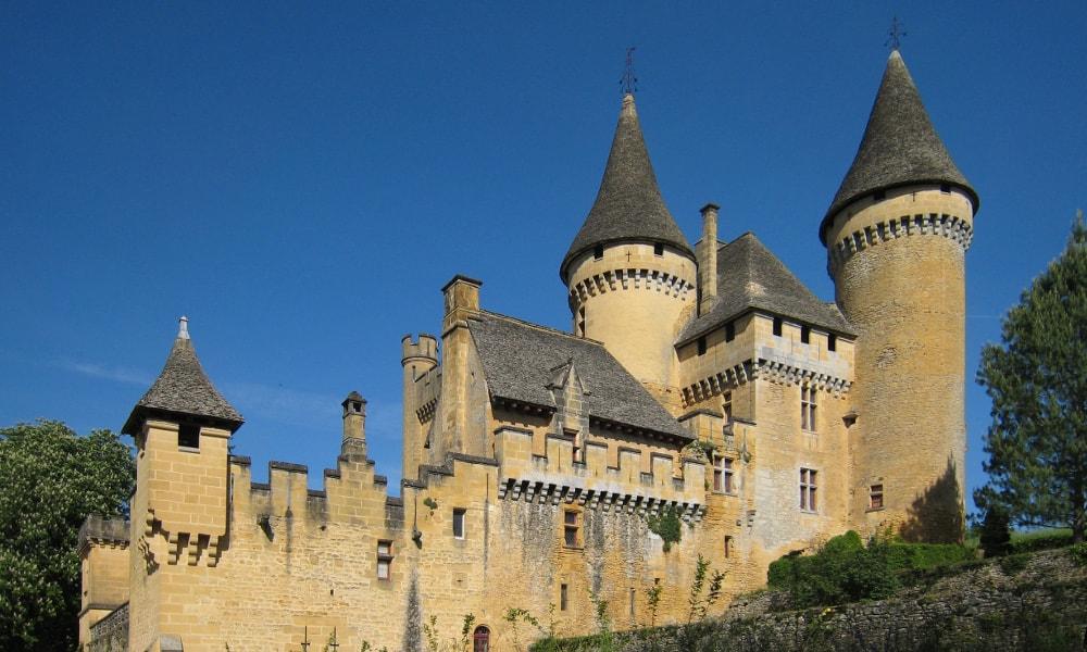 castle of puymartin