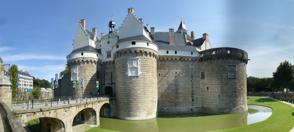 castle of the ducs of bretagne