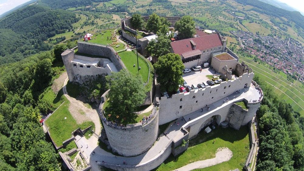 hohenneuffen castle