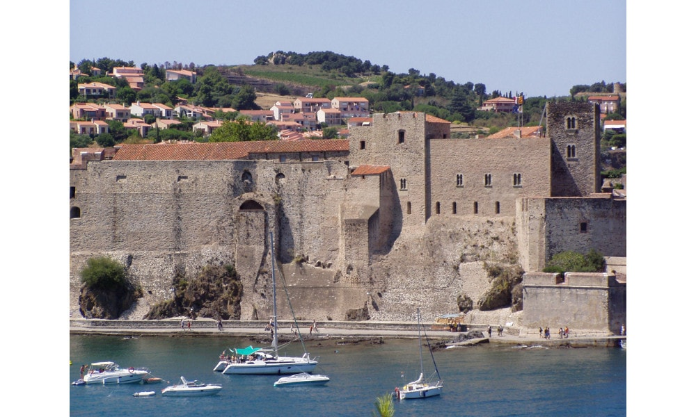 royal castle of collioure