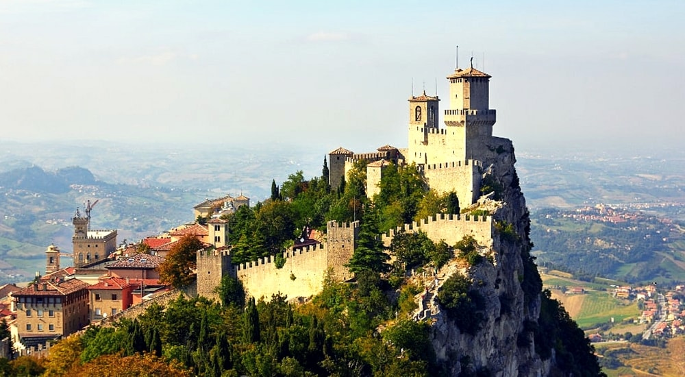 three towers of san marino