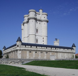 Keep at Chateau de Vincennes, France