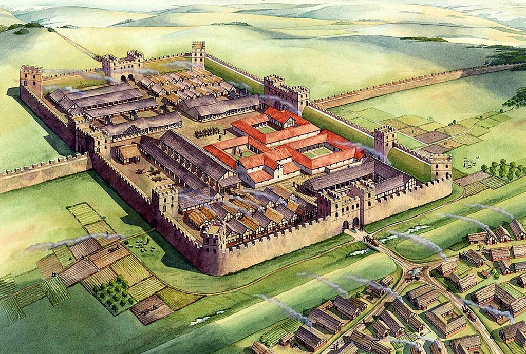 roman fortified town