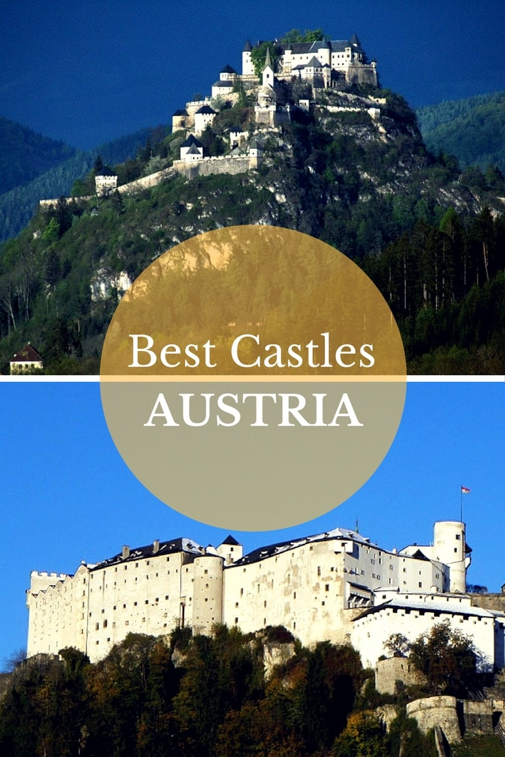 Everywhere in Austria it seems there are palaces, castles, forts, and ruins. Many of the castles were impressive structures built on the highest hills or mountains, while others were nestled in a forest of green trees.