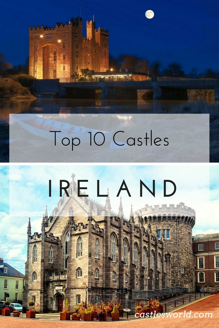 The picturesque country of Ireland contains many castles situated in its vast countryside. If you jump in a rental car and start driving, chances are you'll find one. Ranging from medieval ruins, to luxury hotels most of these castles were built during the country's Norman rule, and were designed primarily to act as defensive fortresses.