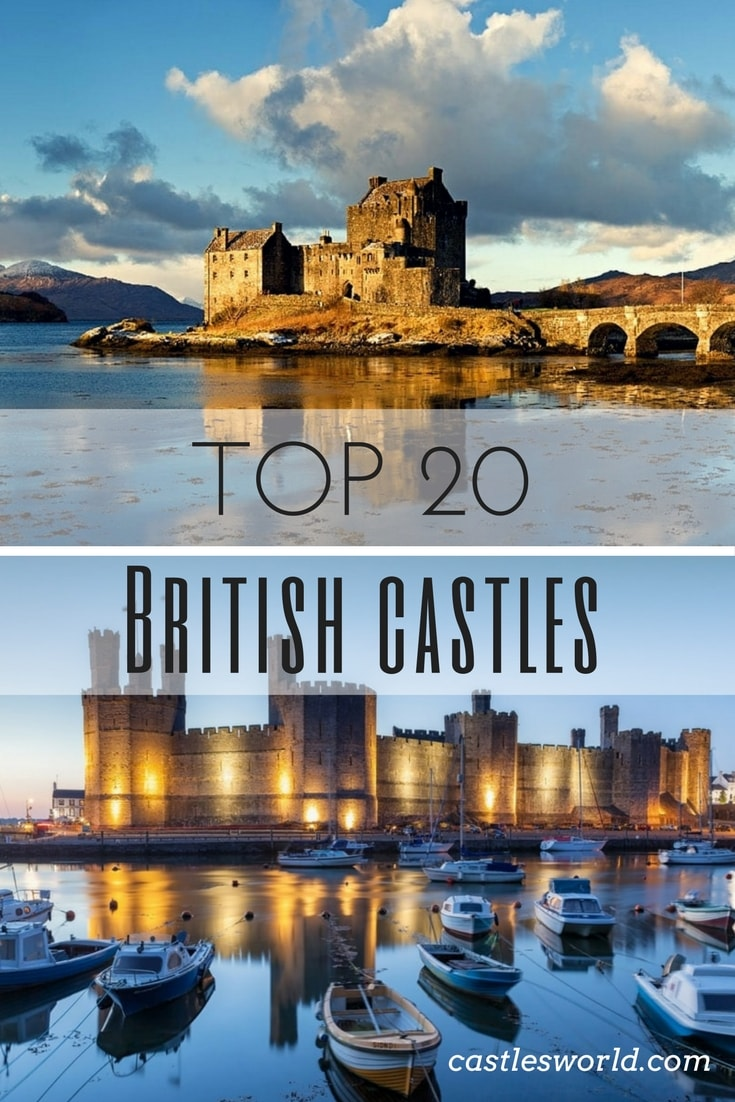 England, Scotland, and Wales have a great history. That is why the first thing a lot of people think about Great Britain is castles and medieval fortresses. Explore the mysteries and secrets of Britain's most famous castles