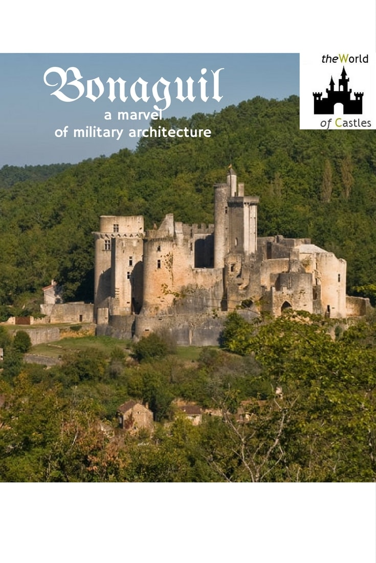 It took over 40 years to complete this gigantic project. The fortified castle comprised of 13 tall towers and over 400 meters of defensive perimeter