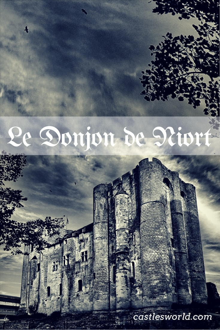 Donjon de Niort was started by Henry II Plantagenet in the 12th century and it was completed by his son Richard the Lionheart. The castle was designed as a strategic base from which English Kings could maintain connections with England and defend their French possessions.